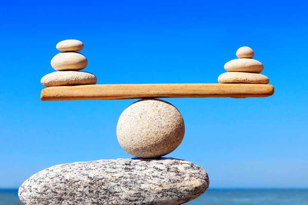 rock balancing other rocks