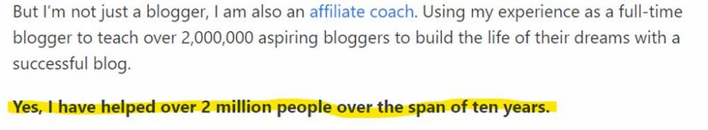 Jay Neill claims to have helped over 2 million people through his blogs
